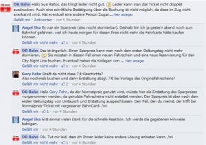 Facebook Reaktion DB2